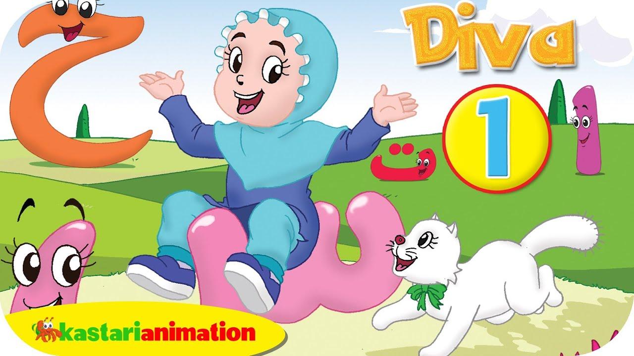 Menghafal Huruf Hijaiyah Bersama Diva 1 Kastari Animation Official
