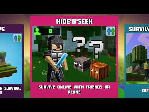 3 new Redstone Blocks,Hide and Seek Game Mode\u0026Mansion Improvements|Planet Craft|Planet of Cubes Beta indir