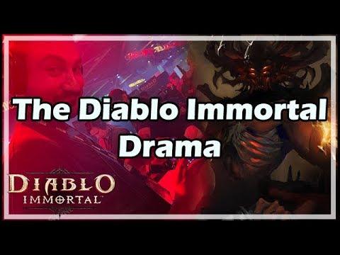 The Diablo Immortal Drama
