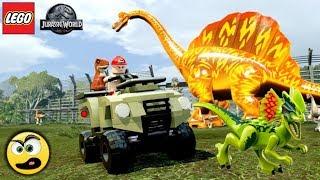 LEGO Jurassic World - BRAQUIOSSAURO DE FOGO - Caraca Games
