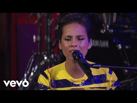 Alicia Keys  Brand New Me  on Letterman