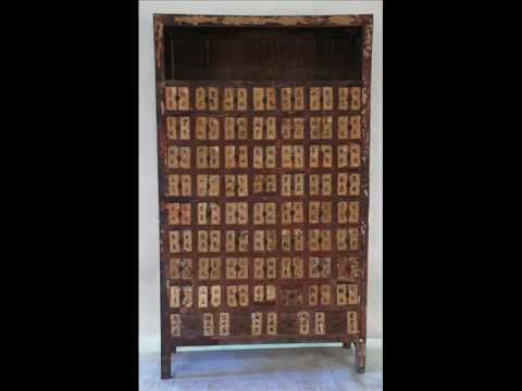 Chinese Antique Apothecary Cabinet - CS1013.wmv - Chinese Antique Apothecary Cabinet - CS1013.wmv - YouTube