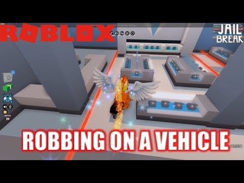Roblox: JailBreak: Robbing Jewelry Store in a VEHICLE???