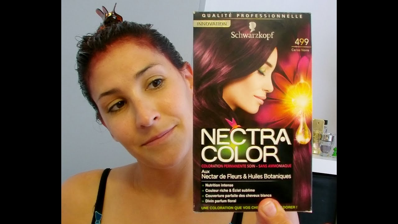 couleur schwarzkopf nectra color 499 lady marjo - Coloration Schwarzkopf