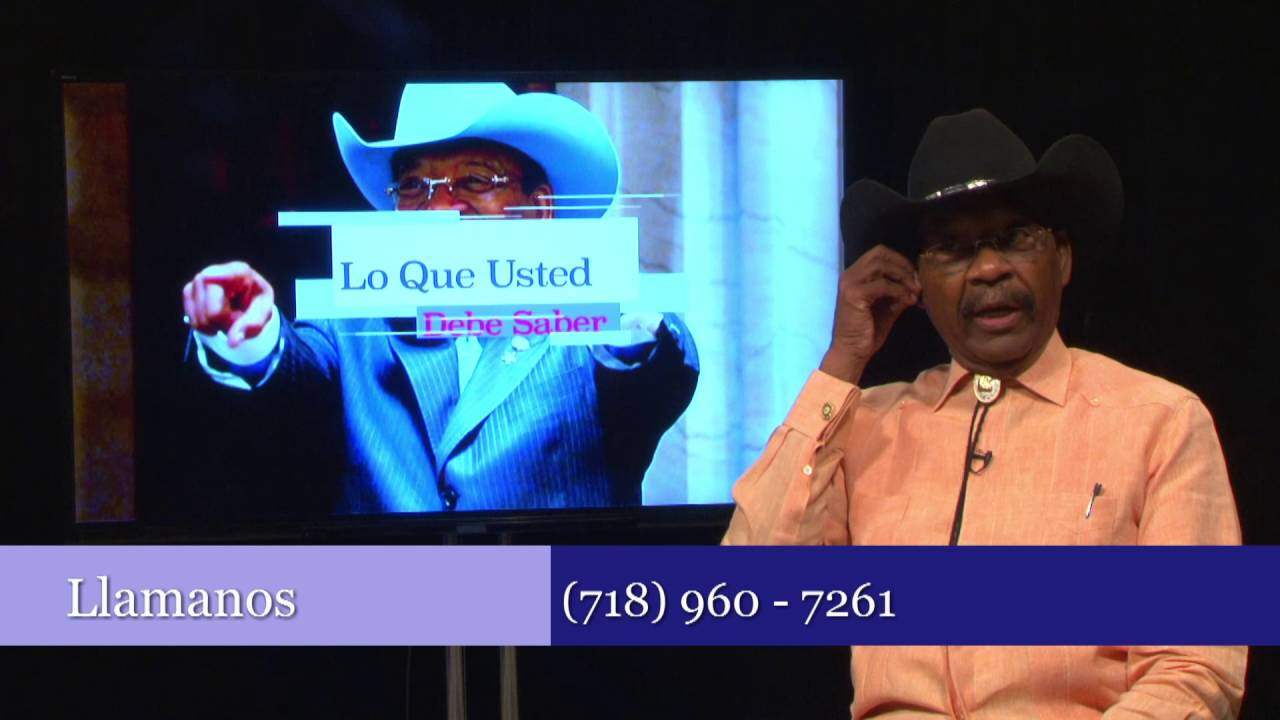 Lo Que usted Debe Saber | August 24 2015