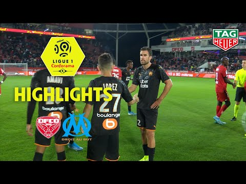 Dijon FCO - Olympique De Marseille ( 0-0 ) - Highlights - (DFCO - OM) / 2019-20
