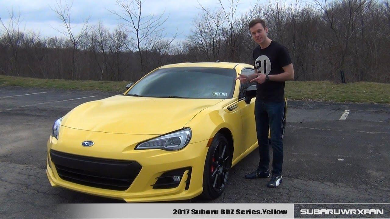 Review: 2017 Subaru BRZ Series.Yellow (Manual)