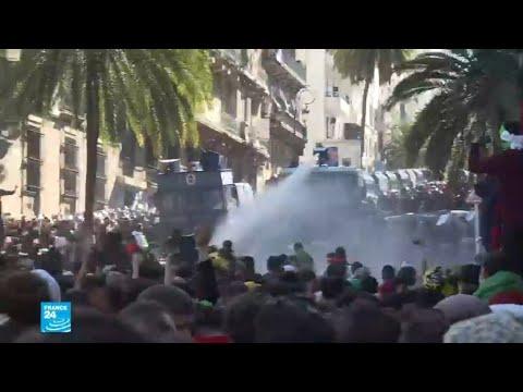 الجزائر: اندلاع مواجهات بين متظاهرين وقوات الشرطة وسط العاصمة  - 13:55-2019 / 4 / 15