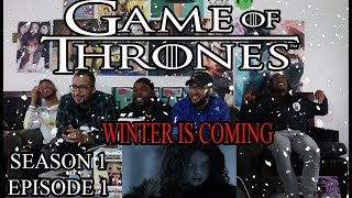 """Game of Thrones Season 1 Episode 1 Reaction/Review """"Winter is Coming"""""""