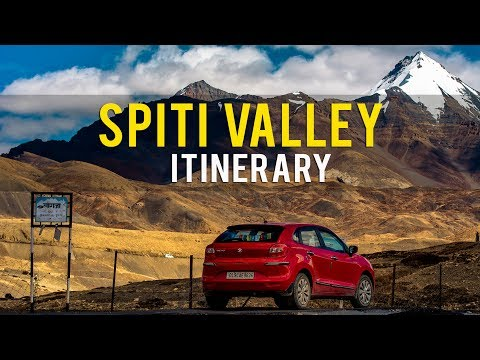 Spiti itinerary | Best itinerary for Spiti valley | Spiti valley route map | Spiti guide |