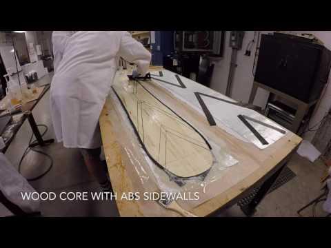 Homemade Snowboard | Carbon Fiber Reinforced