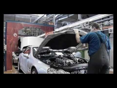 Mercedes benz manufacturing plant bremen youtube for Mercedes benz manufacturing