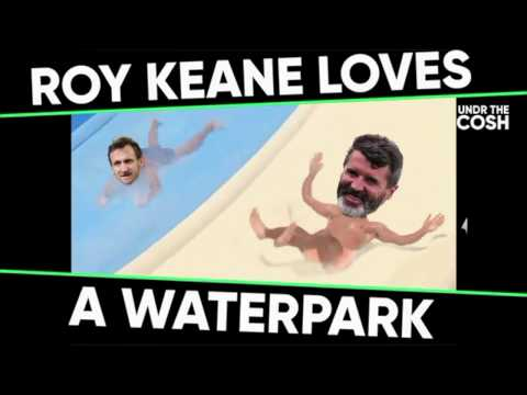 When Roy Keane took the Sunderland squad to a waterpark
