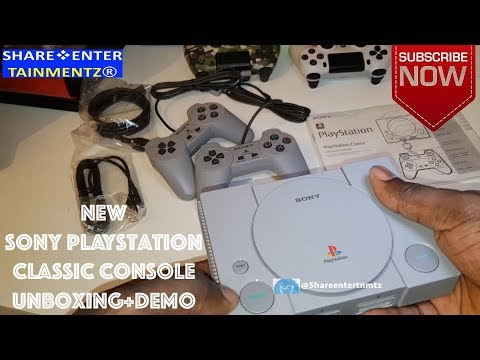 new-sony-playstation-classic-console-(unboxing+demo)