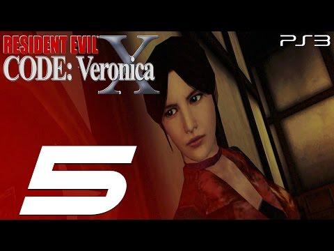 Resident Evil Code Veronica X (PS3) - Walkthrough Part 5 - Alexia & Skeleton Picture