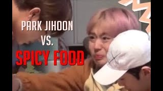 Download Video Wanna One Park Jihoon vs. Spicy Food & Eating MP3 3GP MP4
