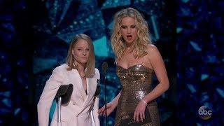 Jodie Foster | Jennifer Lawrence | Oscars 2018 | Funny Moment