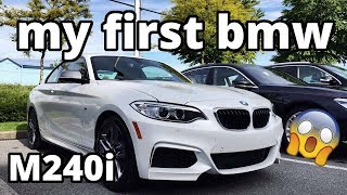 NEW CAR?! Picking up my BMW M240i