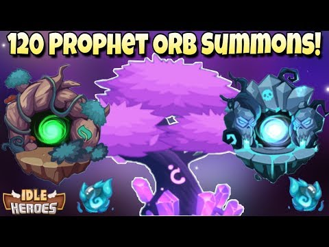 Idle Heroes (O) - 120 Prophet Orb Summons - Shelter Missions