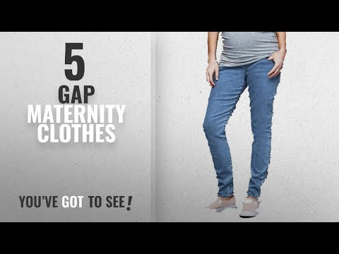Gap Maternity Clothes [2018]: Gap Maternity Medium Blue Denim Resolution True Skinny Full Panel