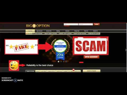Big Option is a SCAM Broker! Live Recorded Conversation Provides Proof!!