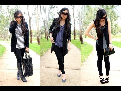How to wear leggings as pants - casual, office, night out