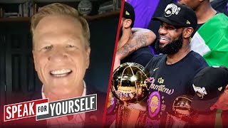 LeBron winning 6 Titles before retirement isn't realistic - Ric Bucher | NBA | SPEAK FOR YOURSELF