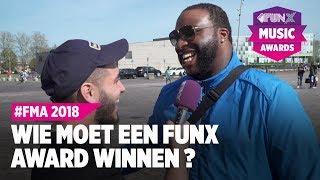 FMA STRAATREPORT: WIE MOET EEN FUNX MUSIC AWARD WINNEN?