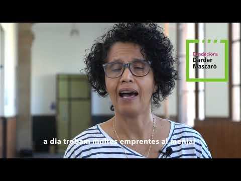 Malika Kathir al I Fòrum Mallorca i els seus Suds