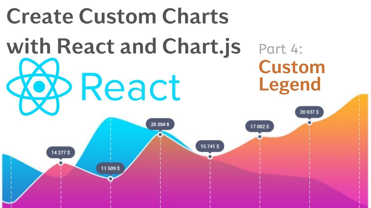 Create Custom Charts with React & Chart JS | Tutorial 4 Custom Legend