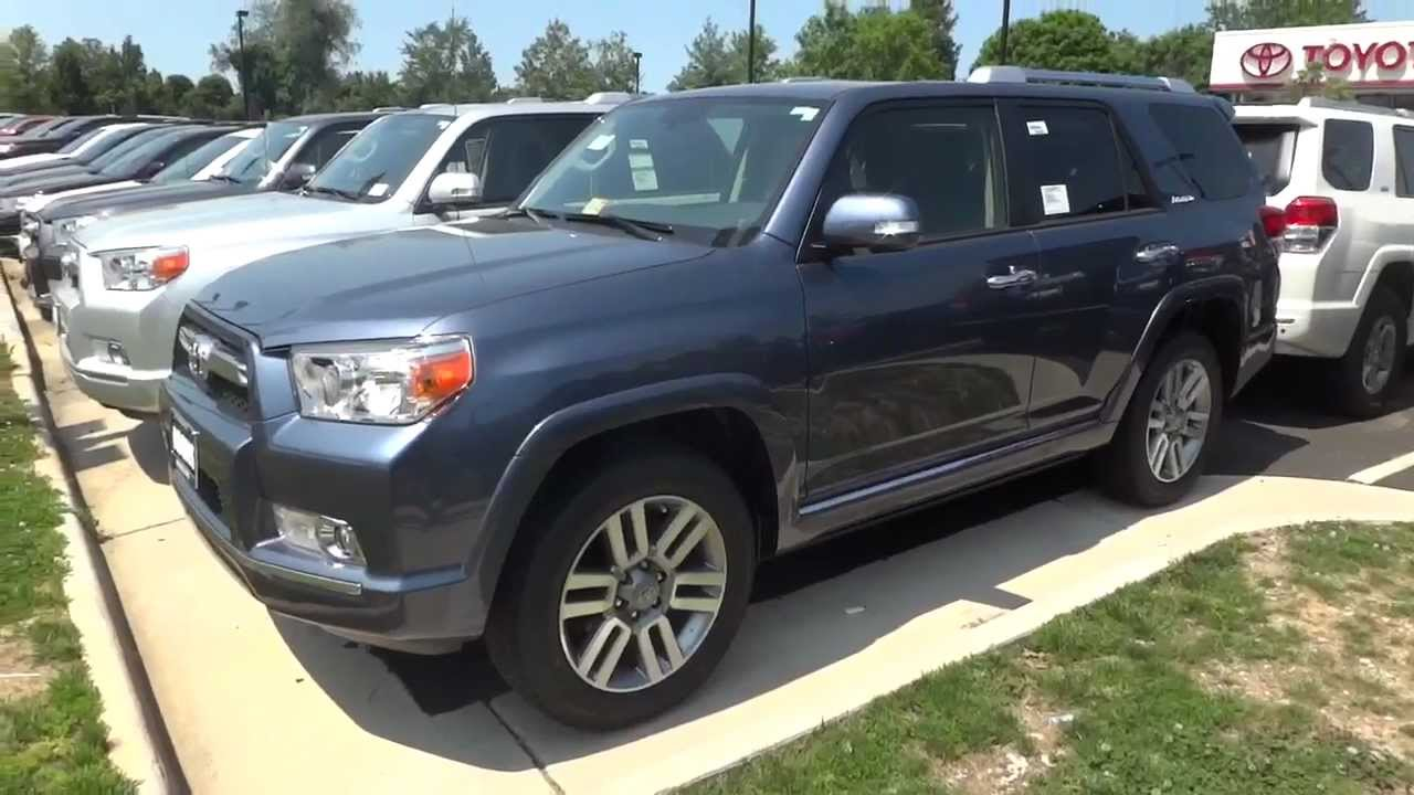 2012 Toyota 4Runner Limited: Review   YouTube