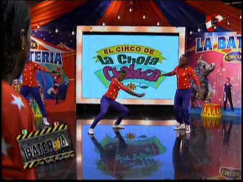 Los Hermanos Cobos del circo de la Chola en La Bateria