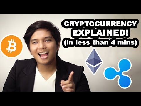 Cryptocurrency Explained in less than 4 minutes!