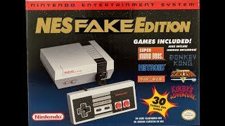 NES CLASSIC MINI FAKE DISCOVERED :( How to tell if yours is a fake.