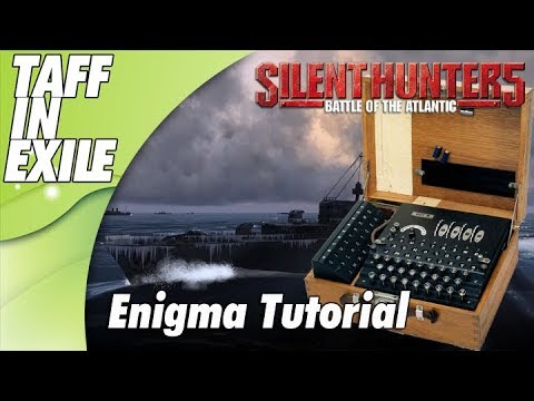 Silent Hunter 5 | Wolves of Steel | Enigma Machine Decoding Tutorial