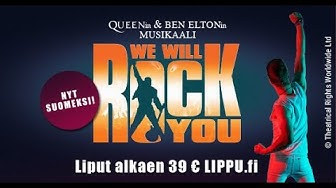 We Will Rock You -musikaali promo