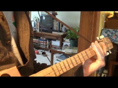 cigar box guitar demo 2