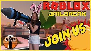 🔴 Roblox Live Stream!!   JAILBREAK UPDATE TIME!!   WE HIT 10K !   #203