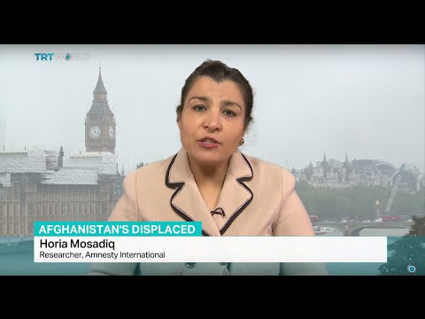 Interview with Horia Mosadiq from Amnesty International on displaced people from Afghanistan