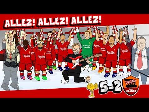 🏆ALLEZ ALLEZ ALLEZ! 5-2!🏆 Liverpool vs Roma (Champions League Semi-Final 2018 goals highlights)