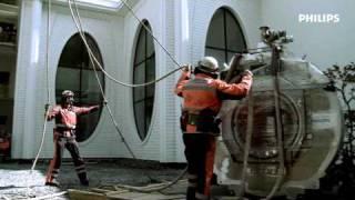 MRI installation by Kamov helicopter in Bad Ragaz/Switzerland