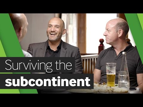 Surviving the subcontinent: Mark Butcher and Simon Hughes talk touring India over a curry