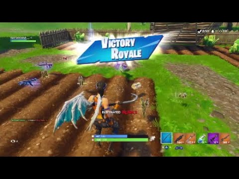 16 Kill Solo Win Season 6 Ws Fortnite Br Youtube