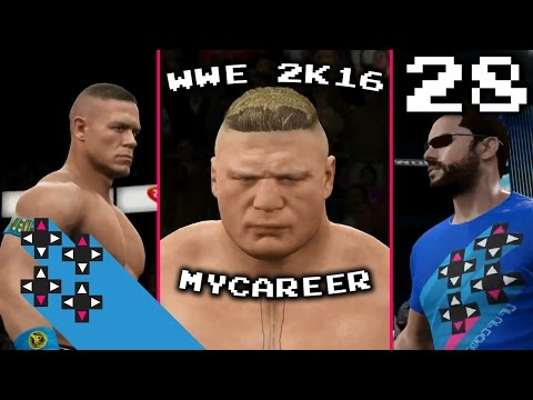 BATTLING JOHN CENA & BROCK LESNAR (WWE 2K16 MYCAREER PART 28) UpUpDownDown Streams
