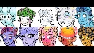 Speedpaint: Sea Slug Fam! [Random Doodles]