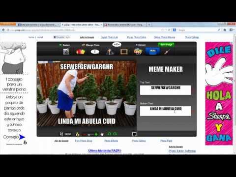 Paginas Para Editar Imagenes Y Crear Memes Youtube