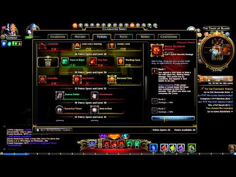 Neverwinter Scourge Warlock dps build