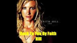 Watch Faith Hill Back To You video