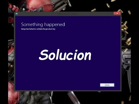 windows 10 update failed to validate product key