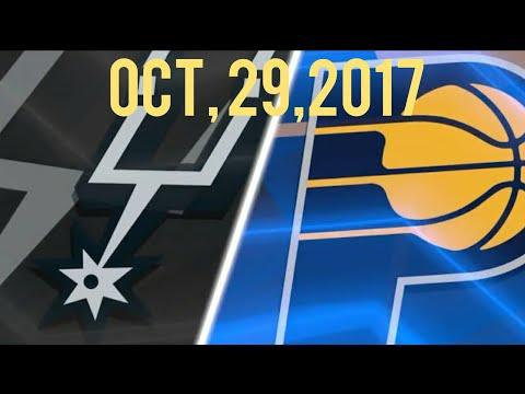 NBA 2K18 Season: Ep.6 (San Antonio Spurs @ Indiana Pacers)